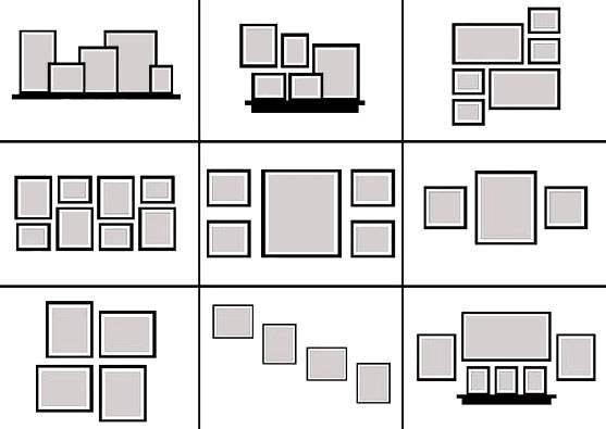 Πώς θα κρεμάσεις τα κάδρα σωστά για να ομορφύνεις τους τοίχους του σπιτιού σου; - poiostigiati.gr