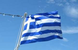 Πότε ορίστηκε η γαλανόλευκη ως εθνικό σύμβολο;